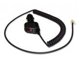 Kabel do zapalovače kroucený s displejem Beltronics